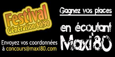 Festival Génération 80 90 Marbehan Belgique Maxi 80 Webradio